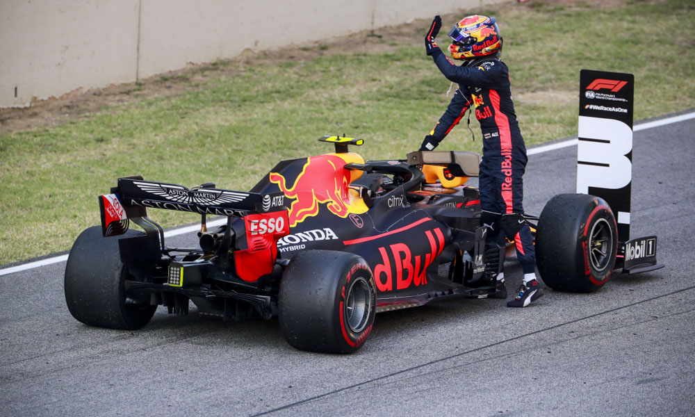 Red Bull pleased by Albon