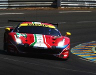 LM24 Hour 4: Ferraris to the fore in GTE Pro
