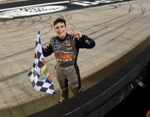 Mayer foils Truck Series playoff drivers with Bristol victory
