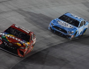 Kyle Busch lashes out after Bristol near-miss