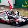 Three in a row for Toyota at Le Mans