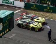 Aston Martin triumphs over AF Corse in GTE Pro at Le Mans