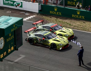 Aston Martin triumphs over AF Corse in GTE Pro at Le Mans