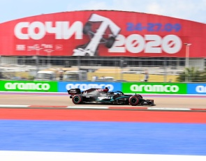 Mercedes rules final Russian GP practice