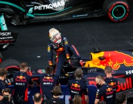 'It's a surprise to be on the front row' - Verstappen