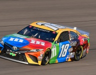 Kyle Busch overcomes early contact, pit issues to finish sixth at Las Vegas