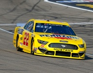 Logano left looking forward after a tough night in Vegas