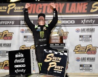 Kurt Busch revels in Las Vegas victory - '20 years of agony, defeat and now triumph'