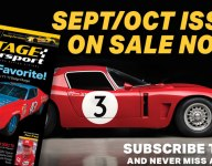 Vintage Motorsport's 2020 Sept-Oct Issue is now available