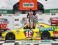 Jones steals the win as leaders tangle in Darlington Xfinity thriller