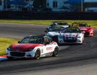 Carter takes wild Global Mazda MX-5 Cup Race 2 win at Mid-Ohio