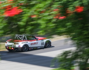 Carter gets first Mazda MX-5 Cup win on wild last lap at Mid-Ohio