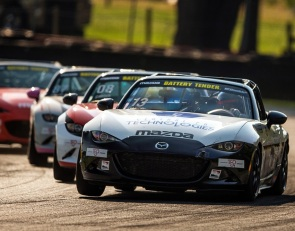Noaker banks third Global Mazda MX-5 Cup at Mid-Ohio victory
