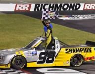 Enfinger wins in Richmond, Hill clinches regular season title