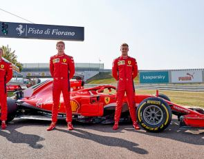 Ferrari runs FDA trio in 2018 car at Fiorano