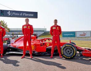Ferrari runs FDA trio in 2018 car at Fiorano