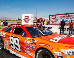 Trotter's Las Vegas win makes ARCA racing history