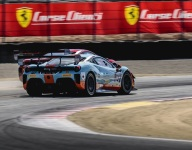 Holden and Booth take wins at Laguna Seca