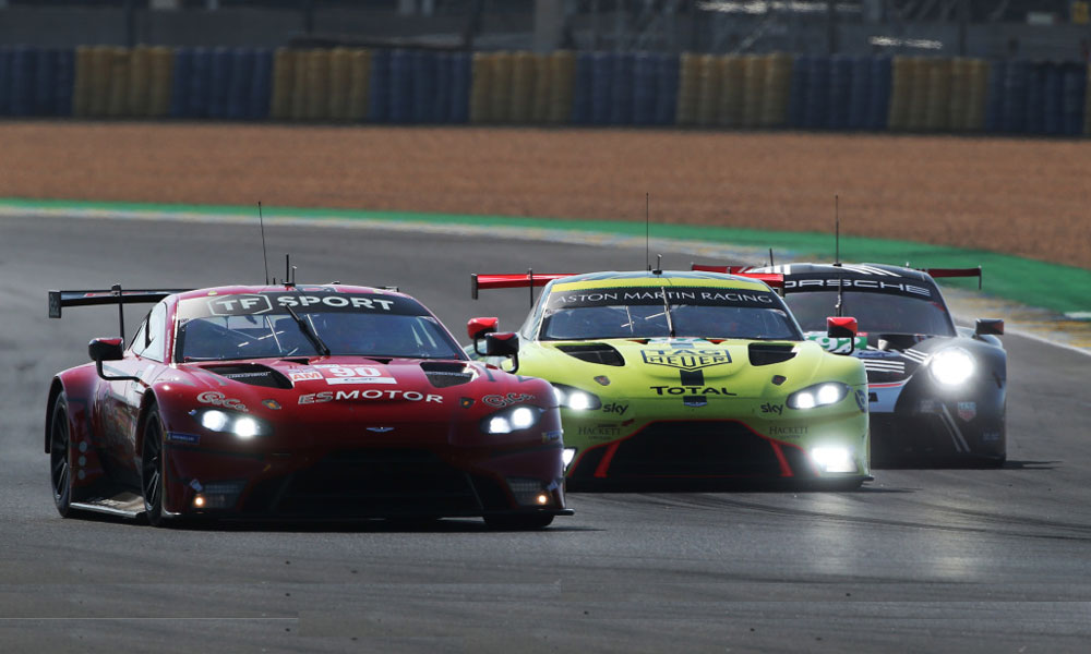 Tf Sport Victorious In Incident Filled Gte Am Battle At Le Mans Racer