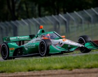 Herta takes pole for Race 2 on a drying Mid-Ohio