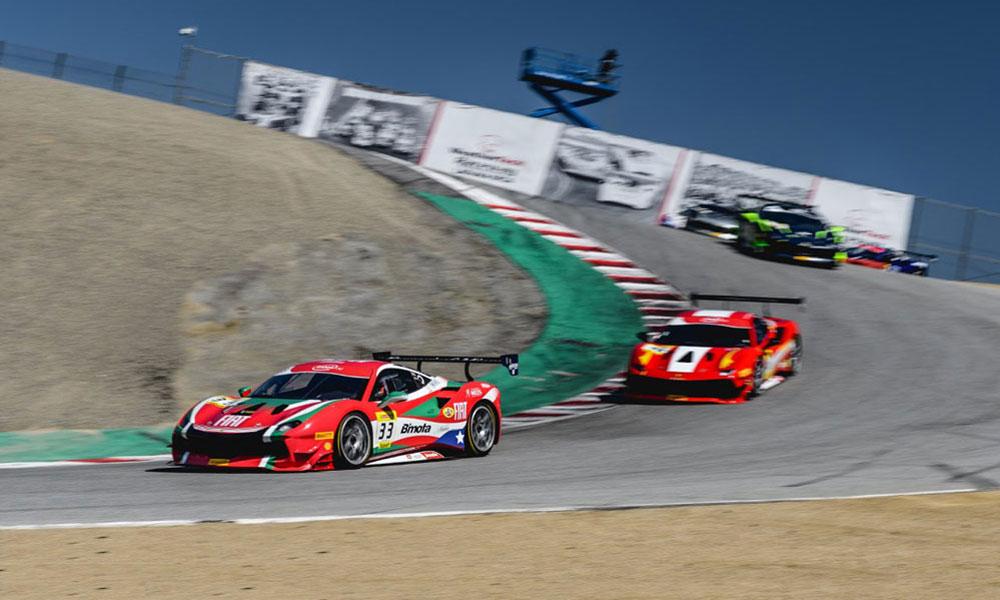 Ferrari Challenge Returns To Weathertech Raceway Laguna Seca Racer