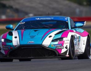 Marcelli/Stacy Aston Martin wins Mid-Ohio Pilot Challenge Race 1