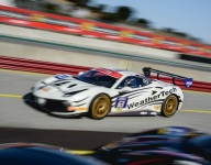 MacNeil back out front as grids set for Ferrari Challenge Race 2