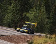 On board with Paul Dallenbach at Pikes Peak