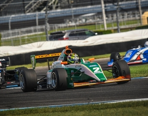 Robb fights back to win for Juncos at Indianapolis