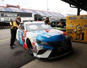 Kyle Busch team struggled to adapt to no-practice races - Stevens