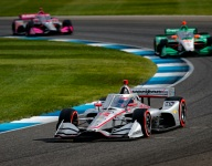 Power holds off Herta, completing Penske Harvest GP sweep