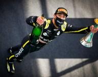 Ricciardo rates podium alongside his first as Abiteboul tattoo bet comes in