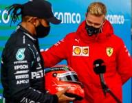 Matching Schumacher 'beyond my wildest dreams' - Hamilton