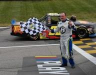 Moffitt gets first Truck Series win of the season at Kansas