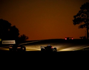 Incident shakes up Petit Le Mans contenders at half-distance