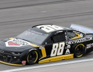 Bowman 'still here fighting' after third-place finish at Kansas