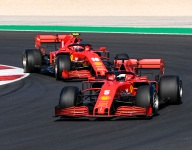 Struggling Vettel feels Leclerc is in 'another league'