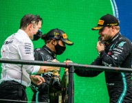 'It's not just me that's living the history, it's the whole team' - Hamilton