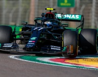 Bottas outguns Hamilton for Imola GP pole