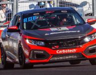 Herbert wins TC America race at the Brickyard