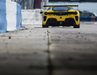 Wet/dry conditions add drama to Sebring Ferrari Challenge qualifying