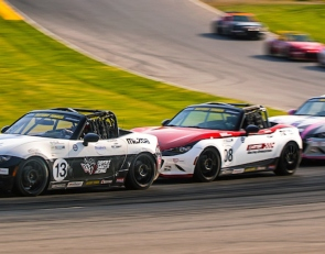 Tight points race headlines MX-5 Cup series return to NJMP