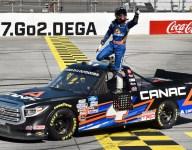 Lessard gets first Trucks win in Talladega elimination race