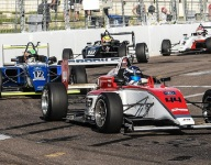Brooks ends USF2000 season with first win