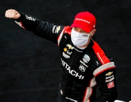 Newgarden kicks title race open with Friday Harvest GP win