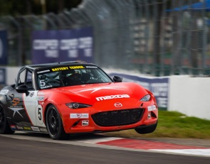 Wagner takes Global Mazda MX-5 Cup St. Pete pole