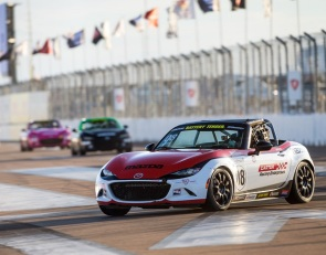 Carter rules Global Mazda MX-5 Cup opener at St Pete