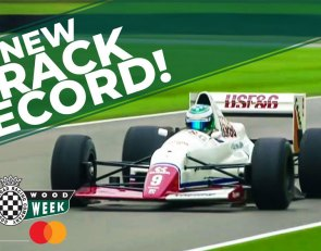 Arrows F1 car resets Goodwood lap record