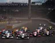 Indy's road course puts on a show