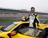 Taylor, Telitz take poles for Charlotte Roval GT-only night race